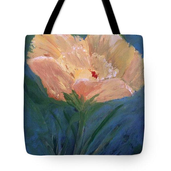 Une Fleur Jeune Tote Bag