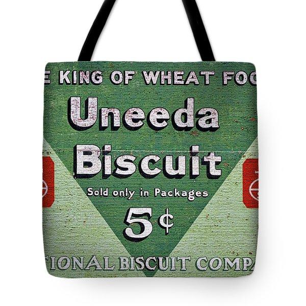 Uneeda Biscuit Vintage Sign Tote Bag