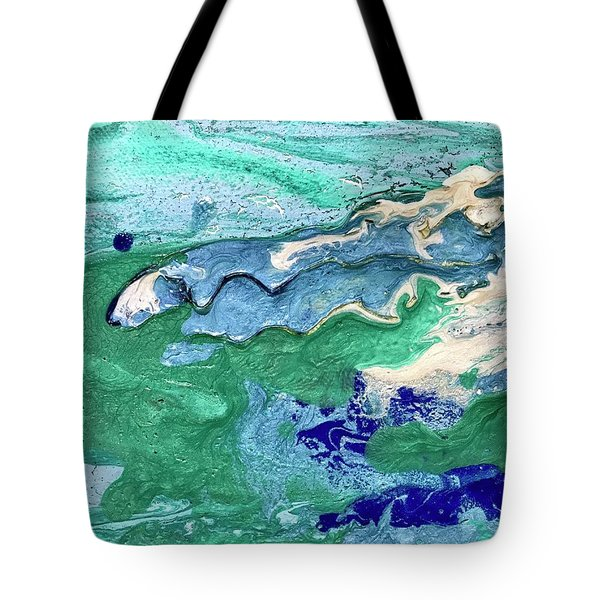 Unexpected Sea Maiden Tote Bag