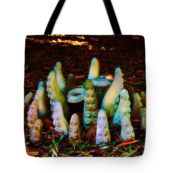 Unexpected Tenacles Tote Bag
