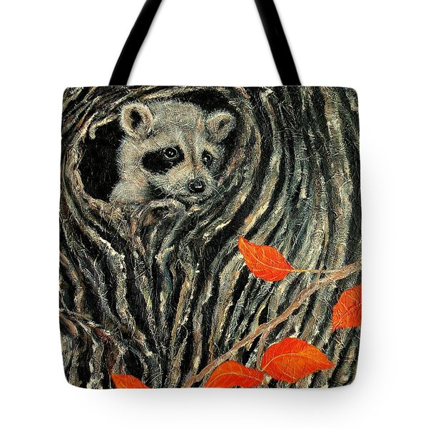 Unexpected Visitor Tote Bag