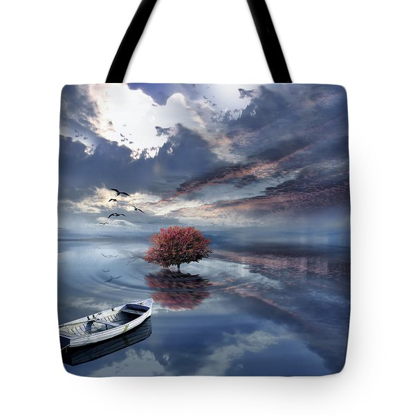 Unfathomable Tote Bag by Lourry Legarde