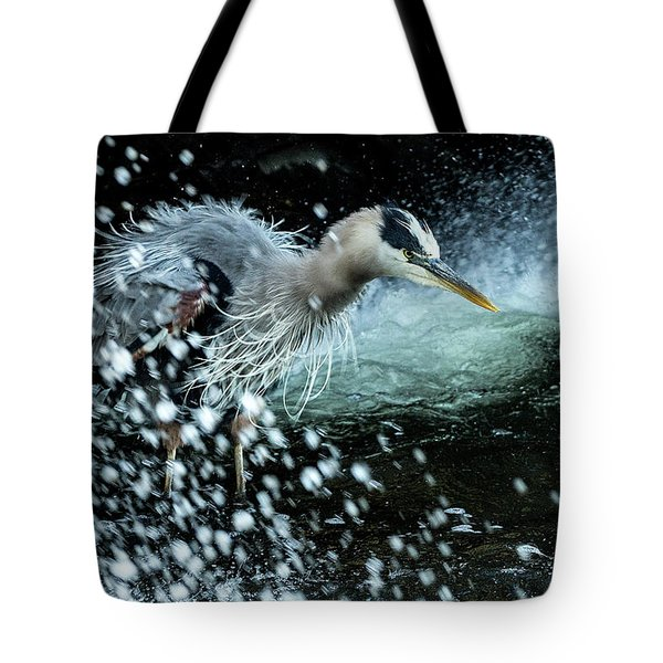 Tote Bag featuring the photograph Unfazed Focus by Everet Regal