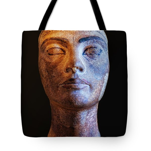 Unfinished Nefertiti Tote Bag