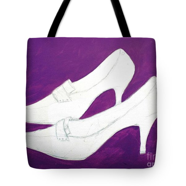 Unfinished Shoes Tote Bag