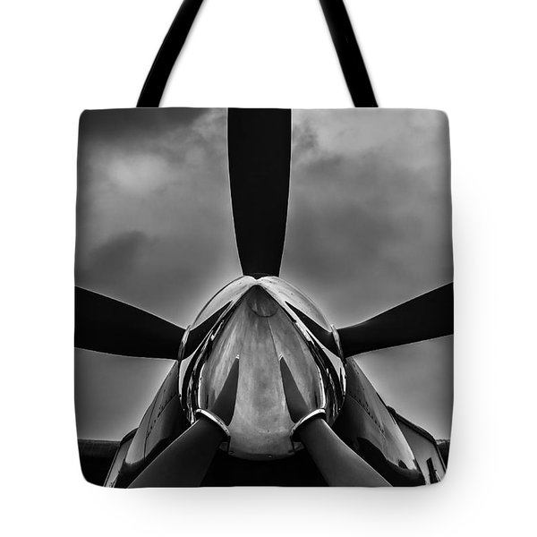 Tote Bag featuring the photograph Unflyable Weather by Alexander Senin
