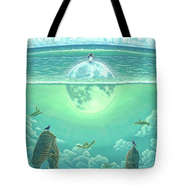 Unforeseeable Future Tote Bag