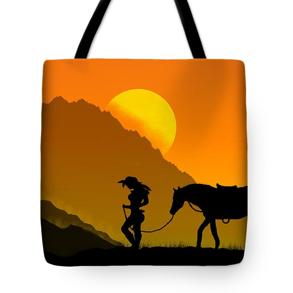 Unforgiven Tote Bag by Bernd Hau