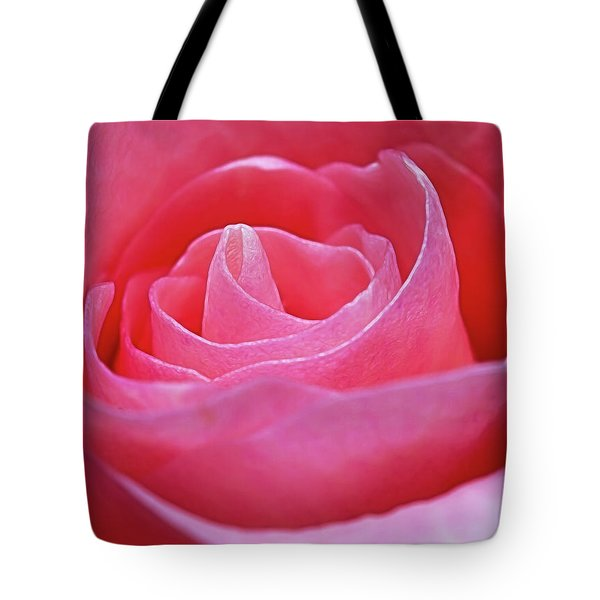 Tote Bag featuring the photograph Unfurl by Ray Shiu