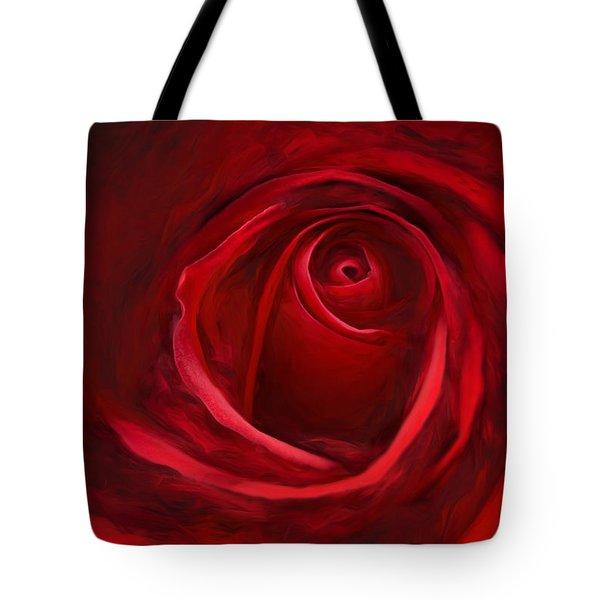 Unfurling Beauty II Tote Bag