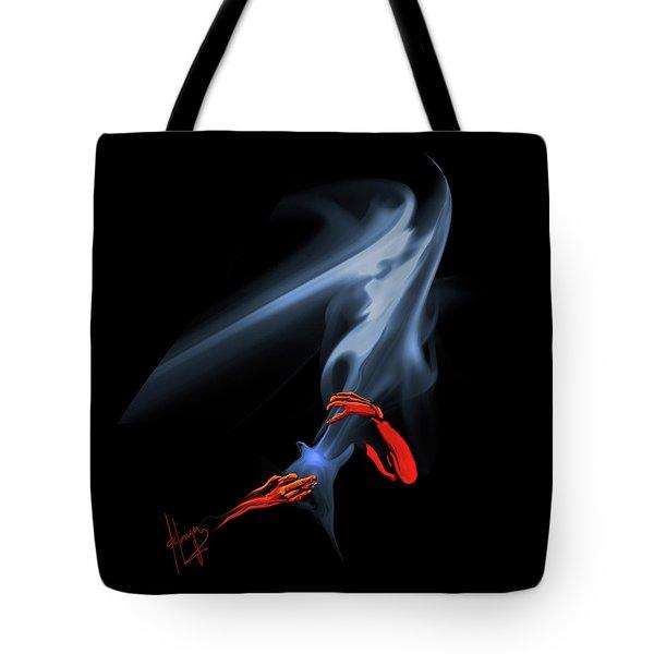 Unholy Smoke Tote Bag