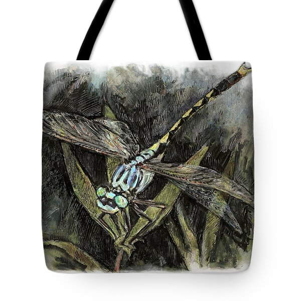 Unicorn Clubtail Tote Bag