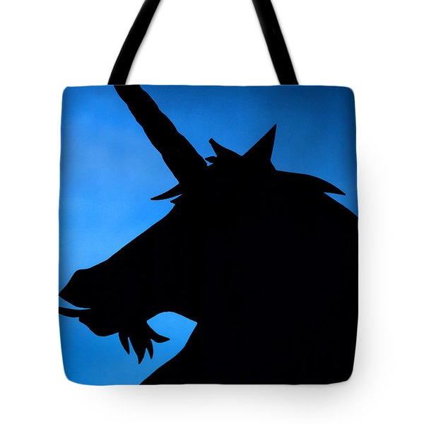 Tote Bag featuring the photograph Unicorn by Craig B