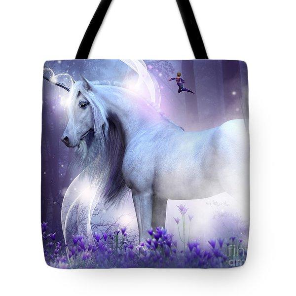 Unicorn Kisses Tote Bag