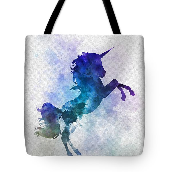 Unicorn Tote Bag by Rebecca Jenkins