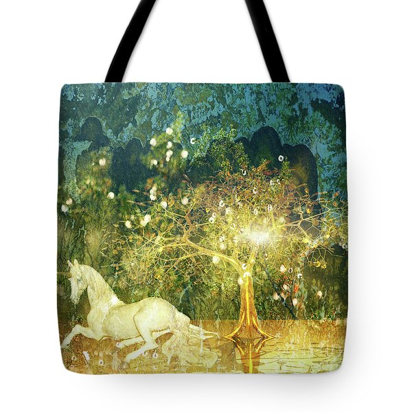 Unicorn Resting Series 3 Tote Bag