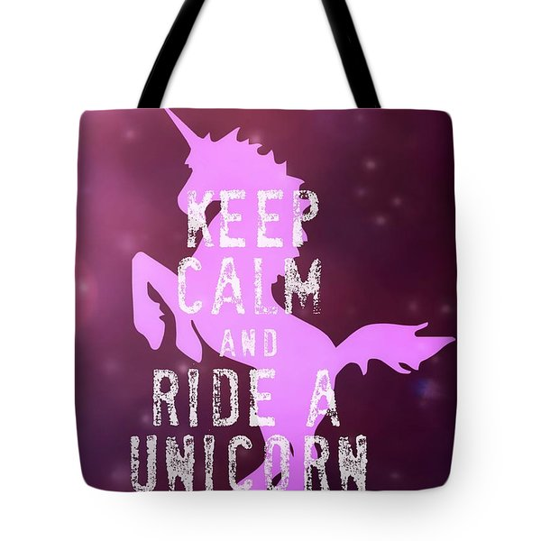 Unicorn Rides Tote Bag