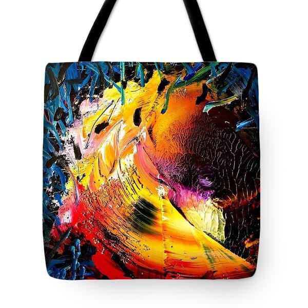 Unicorn Wave Tote Bag