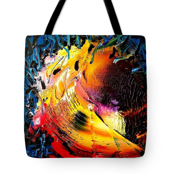 Unicorn Wave Tote Bag