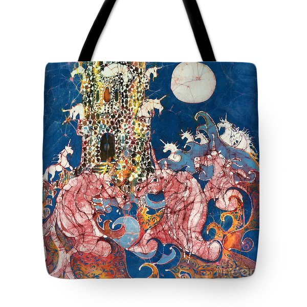 Unicorns Take Castle Tote Bag