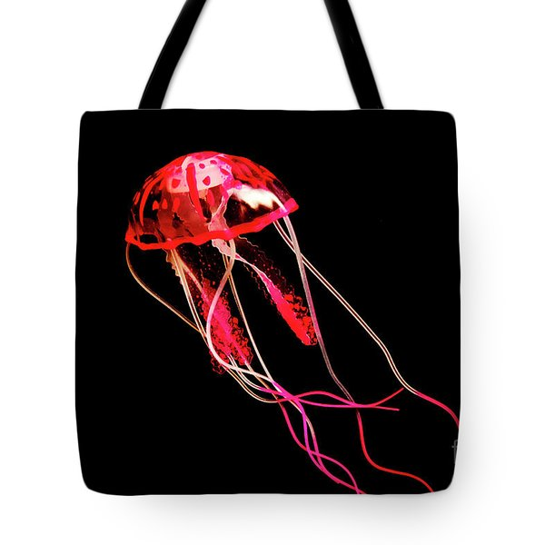 Uninhibited Darkness Tote Bag