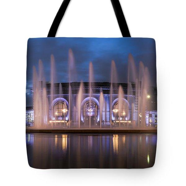 Union Fountain Tote Bag