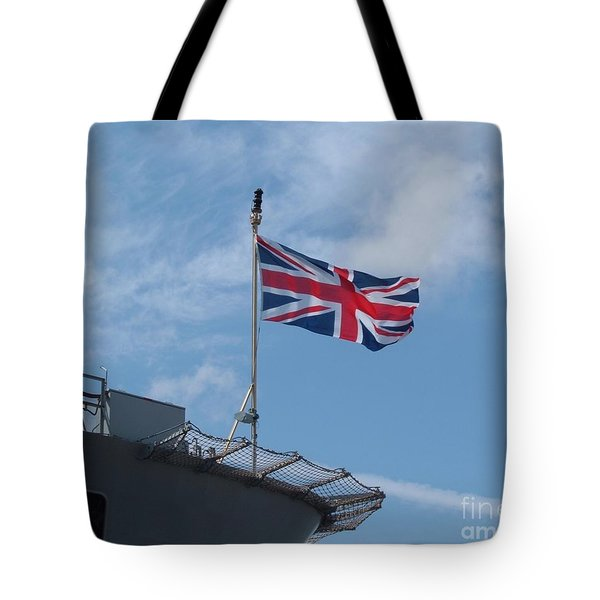 Union Jack Tote Bag by Richard Brookes