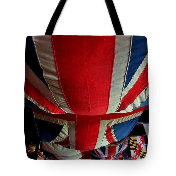 Union Jack  Tote Bag by Tim Townsend