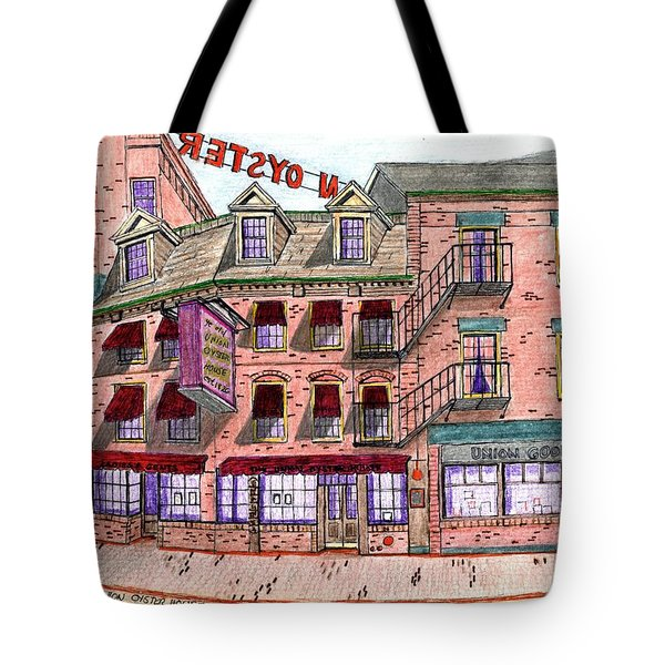Union Osyter House Boston Tote Bag