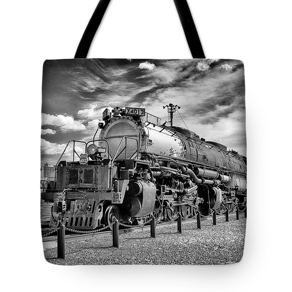 Tote Bag featuring the photograph Union Pacific 4-8-8-4 Big Boy by Paul W Faust - Impressions of Light