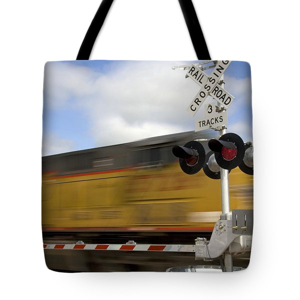 Union Pacific Coal Train Tote Bag by David R Frazier and Photo Researchers