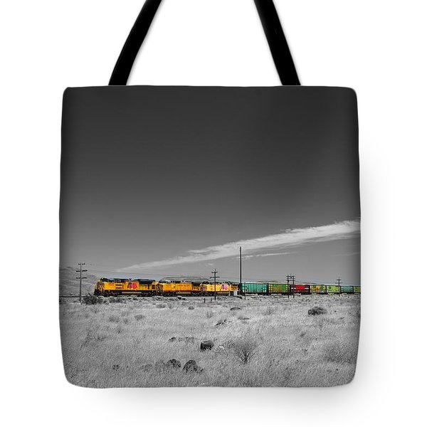 Union Pacific In Columbia Gorge Tote Bag