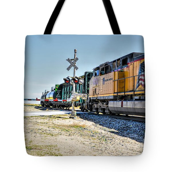 Union Pacific Tote Bag