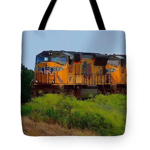 Union Pacific Line Tote Bag
