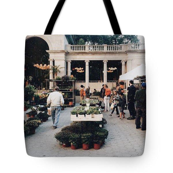 Union Square Market  Tote Bag