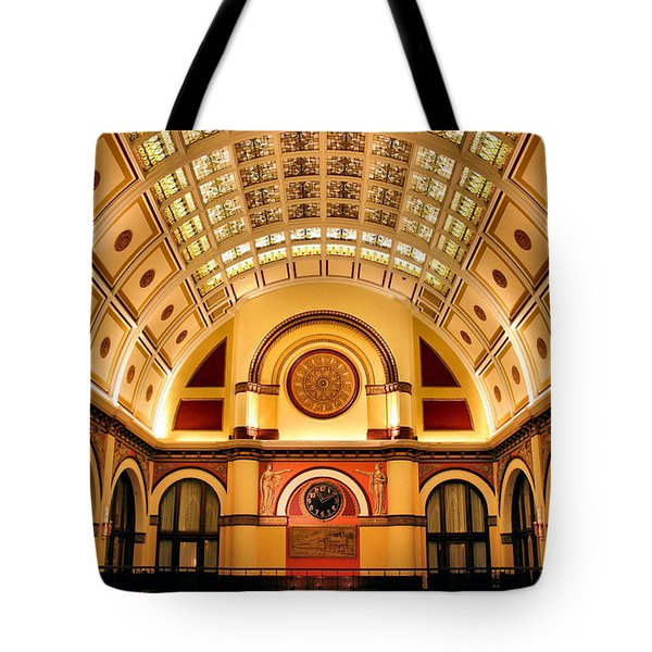 Union Station Balcony Tote Bag