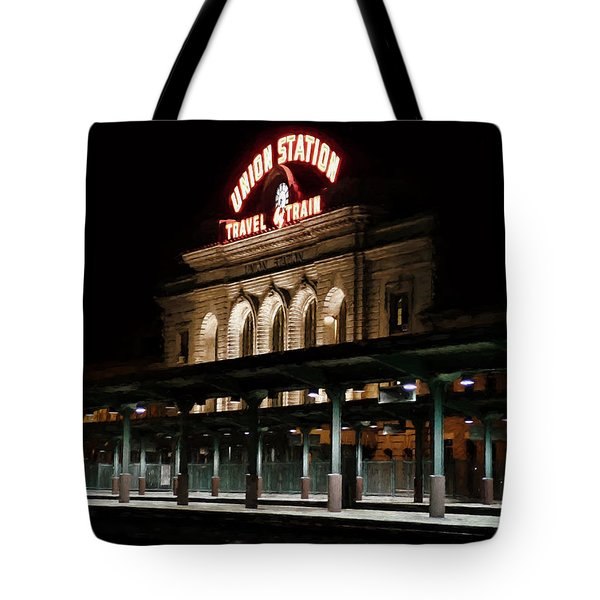 Union Station Denver Colorado Tote Bag