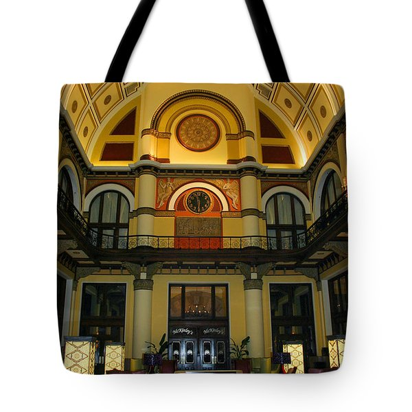Union Station Lobby Tote Bag by Kristin Elmquist