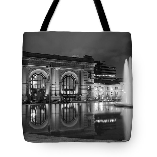 Union Station Reflections Tote Bag by Steven Bateson