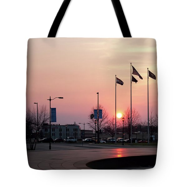 Union Station Sunset Tote Bag