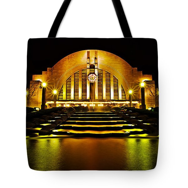 Union Terminal Tote Bag by Keith Allen