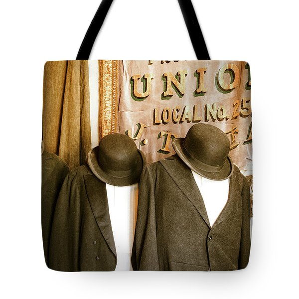 Union Vintage Clothing Tote Bag by Steven Bateson