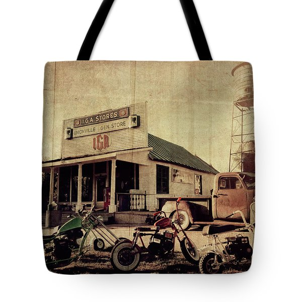Tote Bag featuring the photograph Unionville Genral Store by Joel Witmeyer