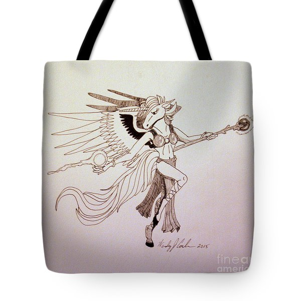 Unipeg Mage Tote Bag by Wendy Coulson