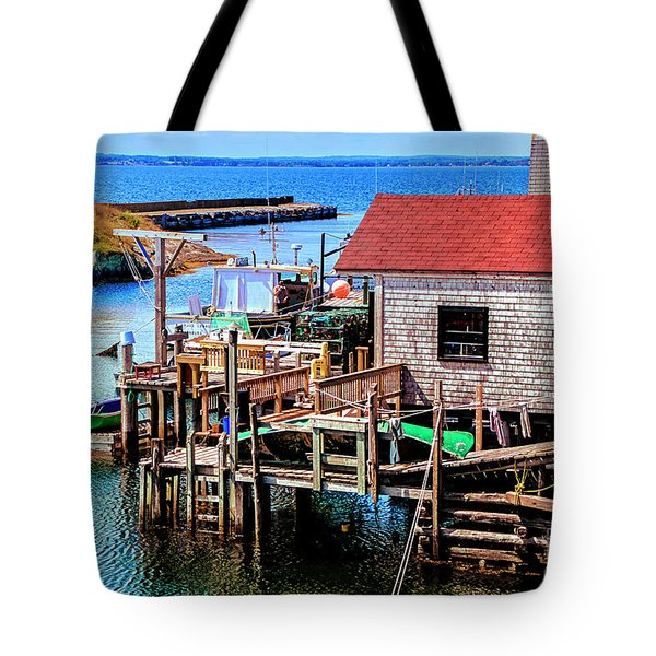 Unique Cove Tote Bag