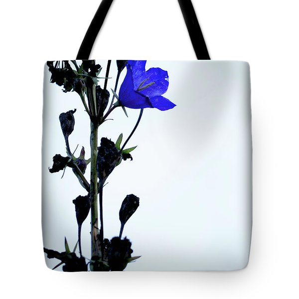 Unique Flower Tote Bag by Teemu Tretjakov