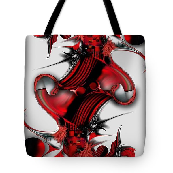 Unique Formation Tote Bag by Carmen Fine Art