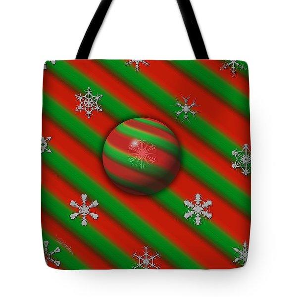 Unique Snowflakes Tote Bag