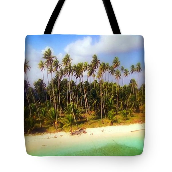 Unique Symbolic Island Art Photography Icon Zanzibar Sands Beaches Tourist Destination. Tote Bag