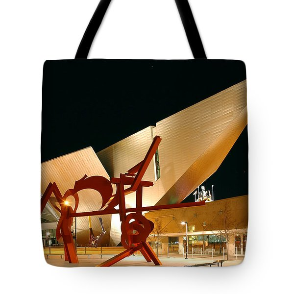 Uniquely Denver Tote Bag by Jon Holiday